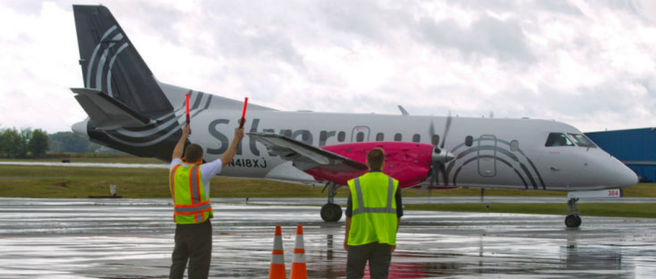 Does Silver Airways offer early check-in before you get to the airport?