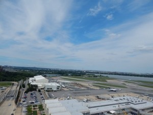 A view from DCA's tower (Photo by Ryan Ewing)
