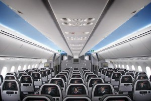 Main Cabin seating on American's 787 (Picture by American)