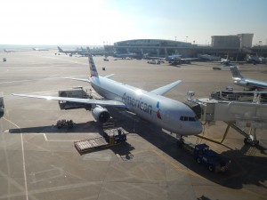 An American 767-300 at DFW (by Ryan Ewing)
