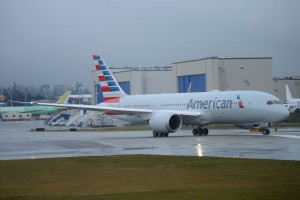 The American 787 (Photo by Digital Editor, Ryan Krautkremer)