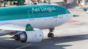 Aer Lingus at SFO (Photo by Robbie Plafker)