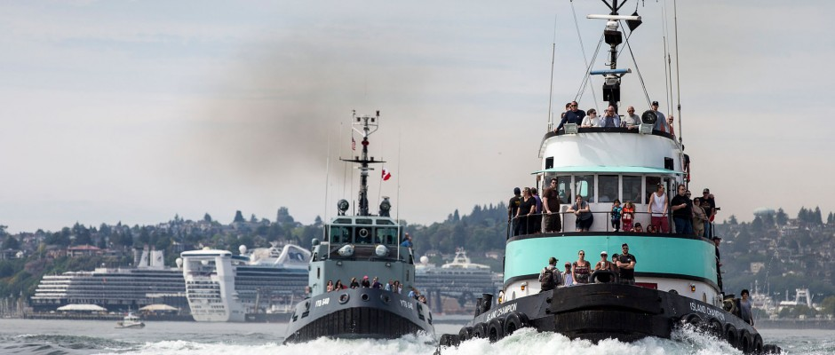 BOAT RACES!!! (Photo via Port of Seattle/Don Wilson)