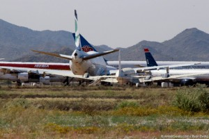 Phoenix Goodyear Airport's boneyard (Photo provided by Ryan Ewing)
