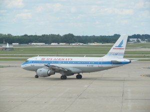 US Airways' Retro Piedmont Livery (Photo via Ian McMurtry)