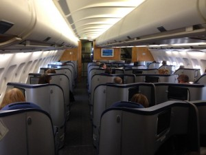 US Airways' Envoy cabin (Photo via Andres Morales)