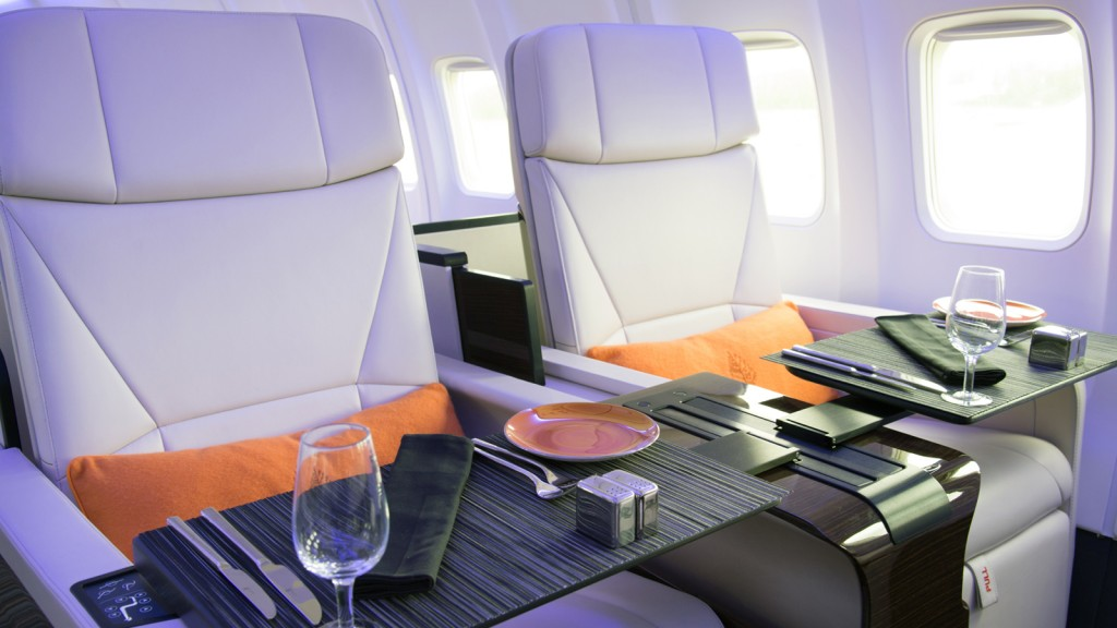 Seats onboard the Four Seasons jet (Photo provided by Four Seasons)