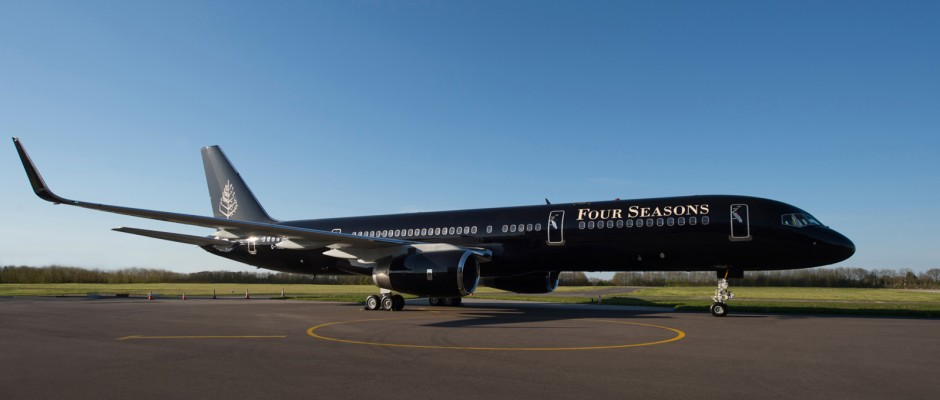 The Four Seasons jet (Photo provided by Four Seasons)