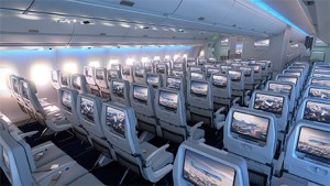 Finnair A350 Economy Class (Photo via Finnair)