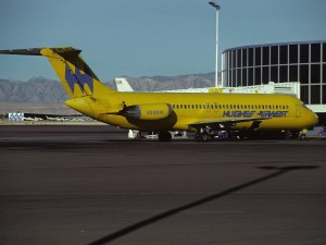 An Airwest DC-9 (Photo provided by Aero Icarus from Zürich, Switzerland [CC BY-SA 2.0 (http://creativecommons.org/licenses/by-sa/2.0)], via Wikimedia Commons)