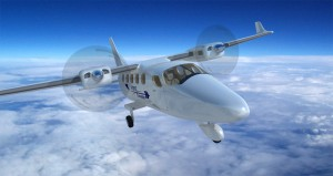 Tecnam's P2012 aircraft (Photo provided by Technam's website)