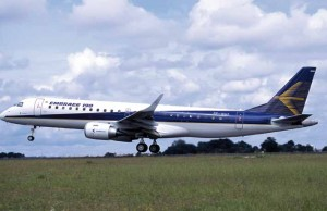 A Embraer E190 (Photo provided by Embraer)