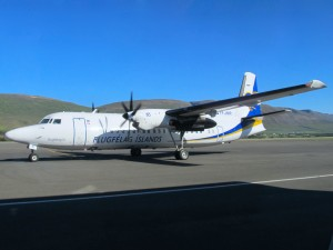 An Air Iceland aircraft (Photo provided by Ian McMurtry)