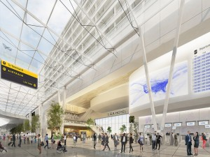 A look at the future of LGA (Graphic provided by Gov. Cuomo)