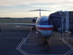 My first aircraft; the mighty MD80