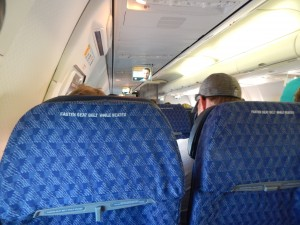 Inside the American 737-800 that took me to Bermuda