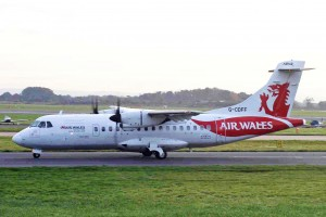 An Air Wales ATR-42 (Photo provided by Ken Fielding/http://www.flickr.com/photos/kenfielding [CC BY-SA 3.0 (http://creativecommons.org/licenses/by-sa/3.0) or CC BY-SA 3.0 (http://creativecommons.org/licenses/by-sa/3.0)], via Wikimedia Commons)