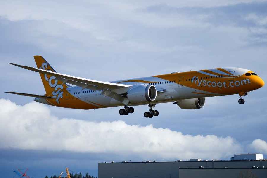 Scoot Retires Last 777 Becomes First All 787 Fleet
