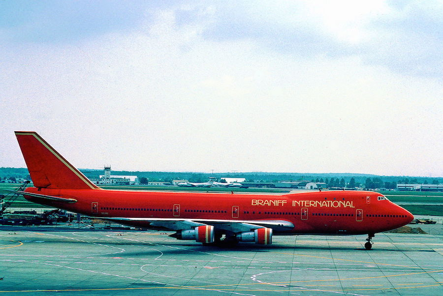 Tbt Throwback Thursday In Avation History Braniff
