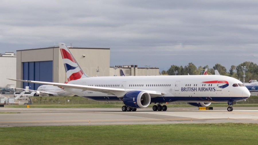 First 787-9 Arrival Highlights British Airways' Continuation of ...