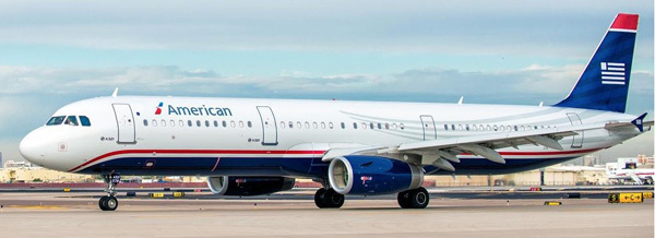 The US Airways heritage livery (Photo provided by American Airlines)