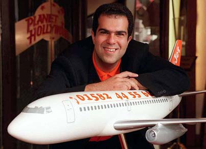 Founder of EasyJet (Photo provided by EasyJet ad)