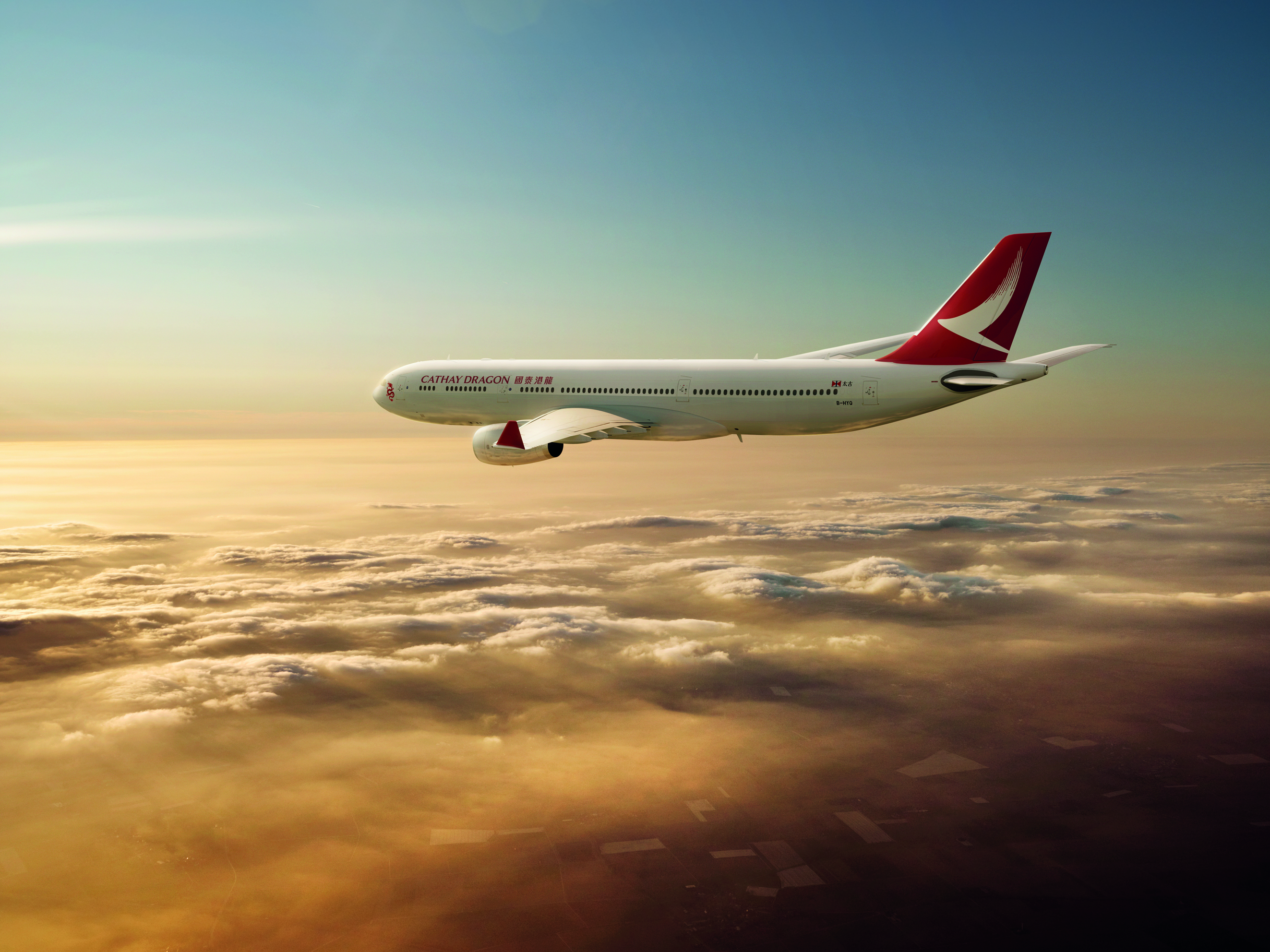 Cathay Dragon New Livery Photo: Cathay Pacific
