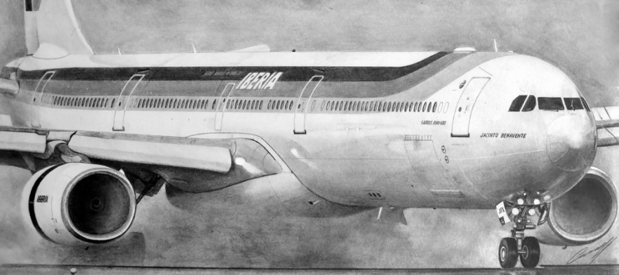Aviation Art: From Photos to Beautiful Sketches