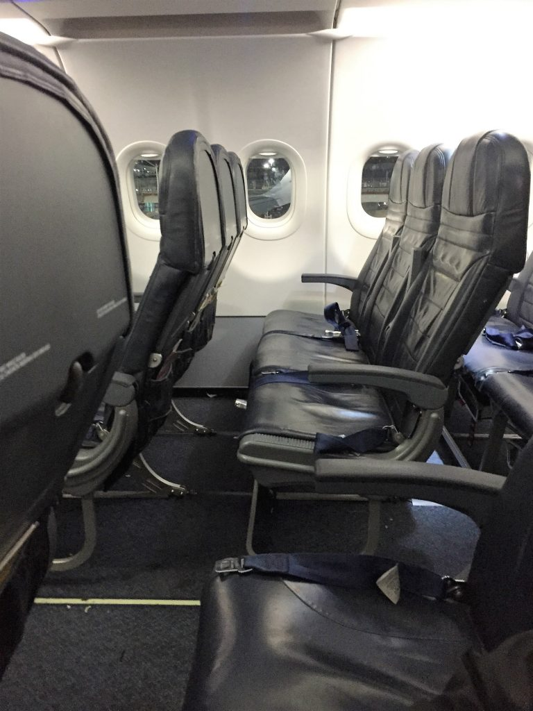 Regular economy seats