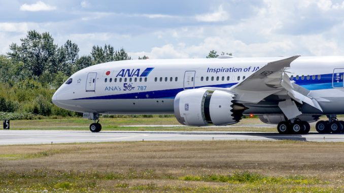 ANA to fix some Boeing 787s after engine problems