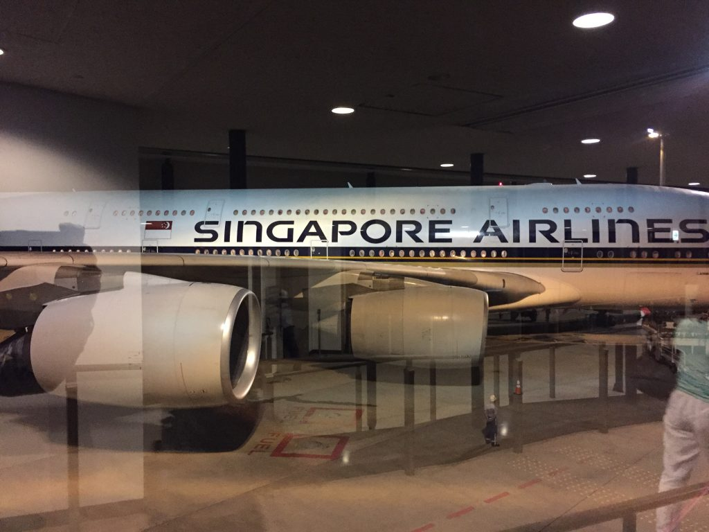 The Singapore A380