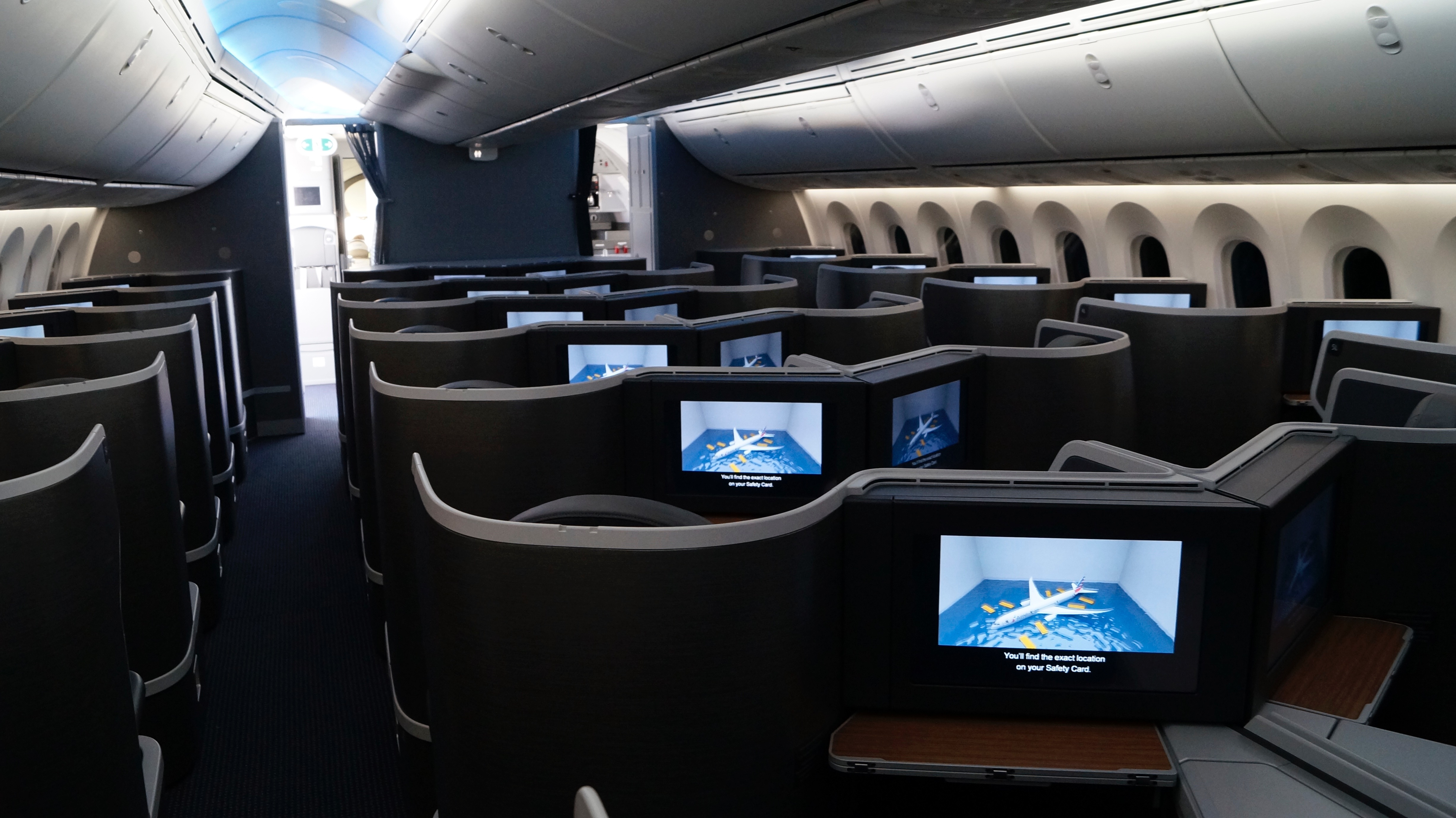 First Look Inside American S 787 9 Dreamliner
