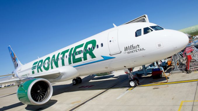 MSN7141 is the first Airbus A320neo for Frontier Airlines