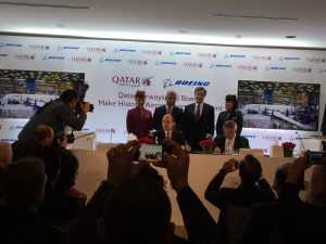 Qatar Airways media event in DC