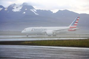 N812AA arrives in Cold Bay (Photo: American Airlines)