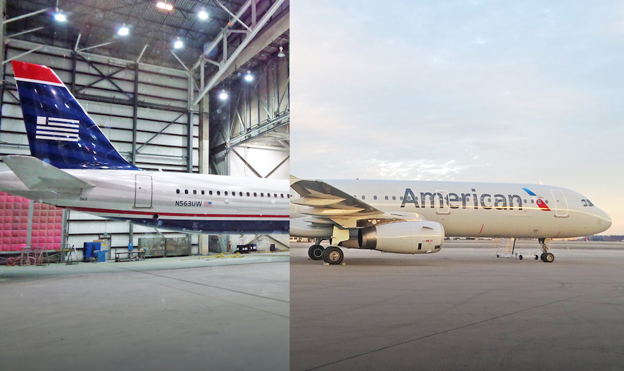 the us airways mainline livery is now a thing of the past