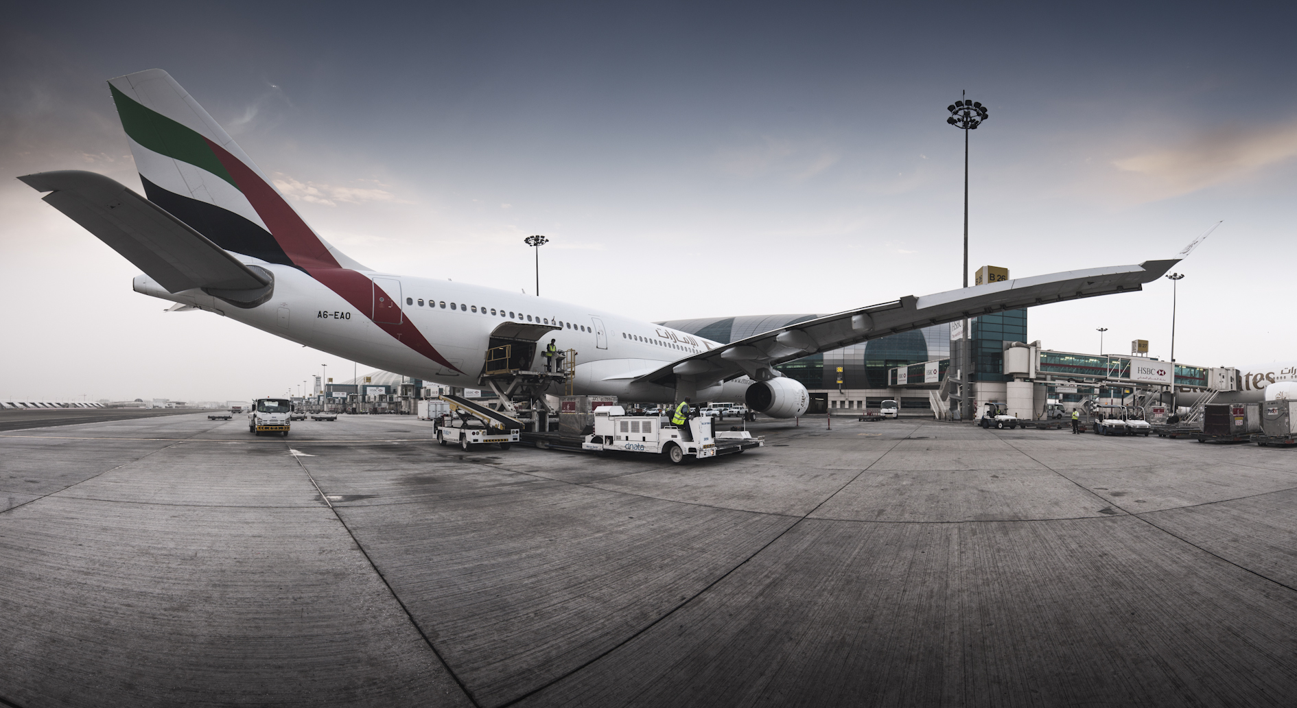 One of Emirates' A330 aircraft as seen at Dubai International Airport (Photo: Dubai Airports)