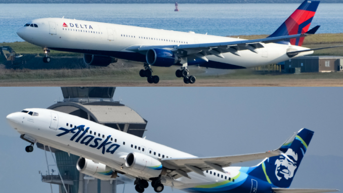 Delta And Alaska Airlines Slated To End Partnership In