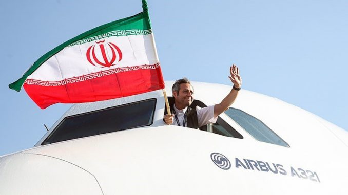 Iran welcomes Airbus as first post-sanctions airliner