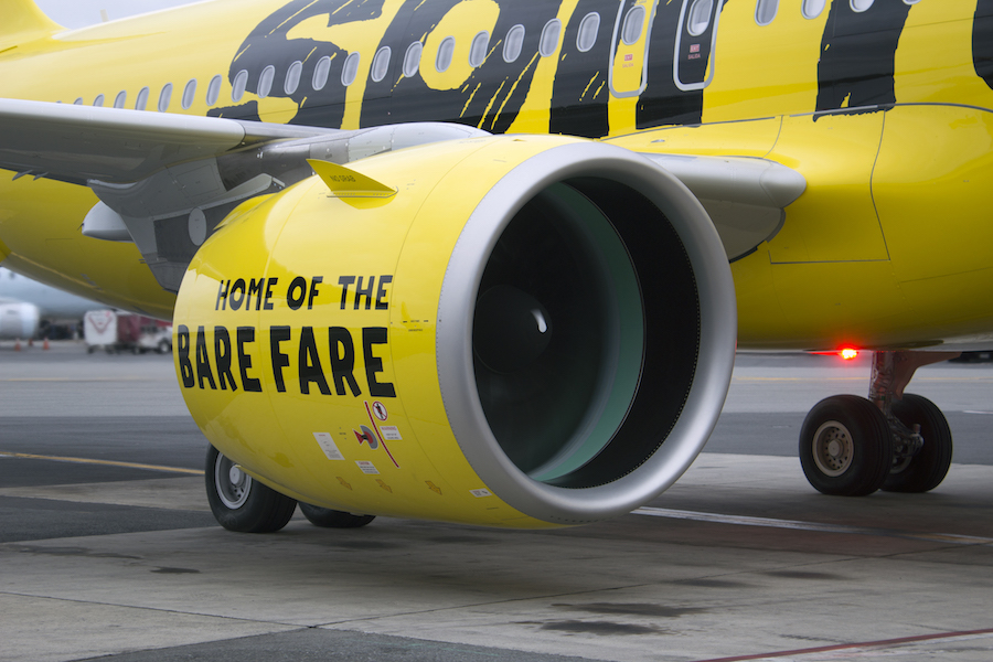 Spirit Airlines Unveils Newly Redesigned Cabin Seats To Be