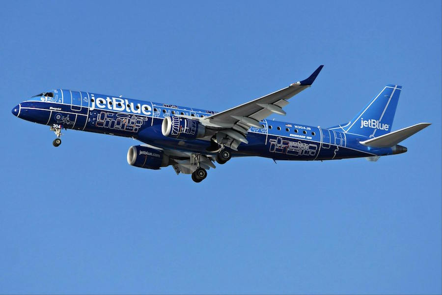 Jetblue Shows Off 12th Special Livery Aircraft First On