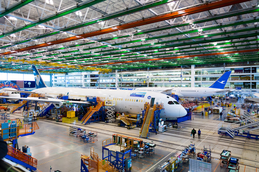 Taking A Peek Inside Boeing S Manufacturing Facility In