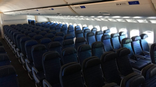 Photos Taking A Ride Onboard United S Brand New Boeing
