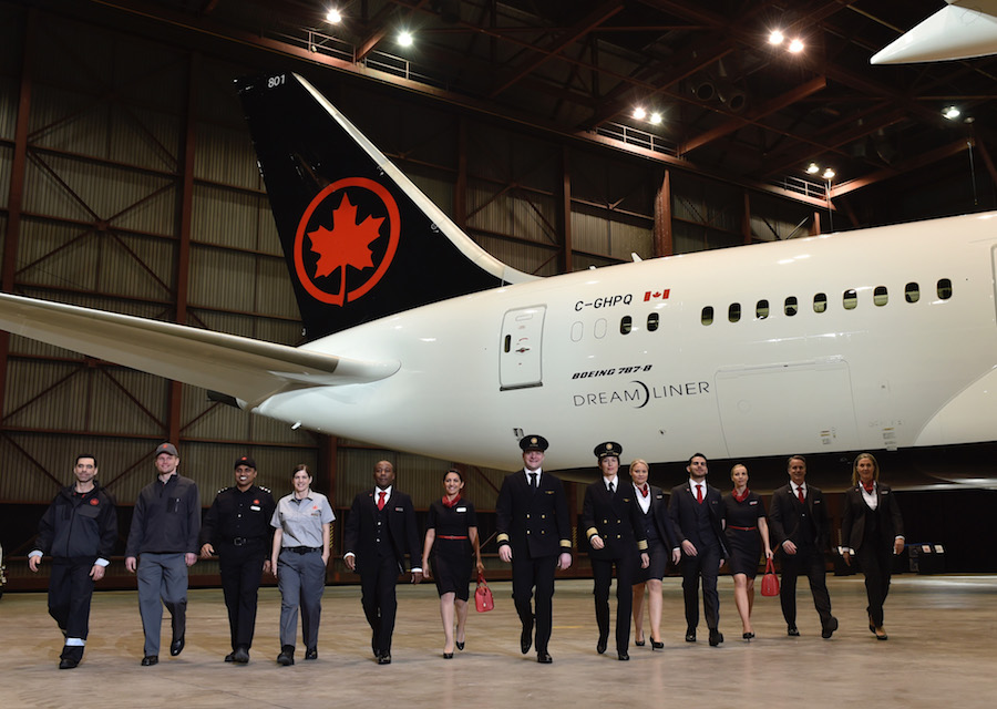 Air Canada Introduces A Revamped Livery And Brand Redesign