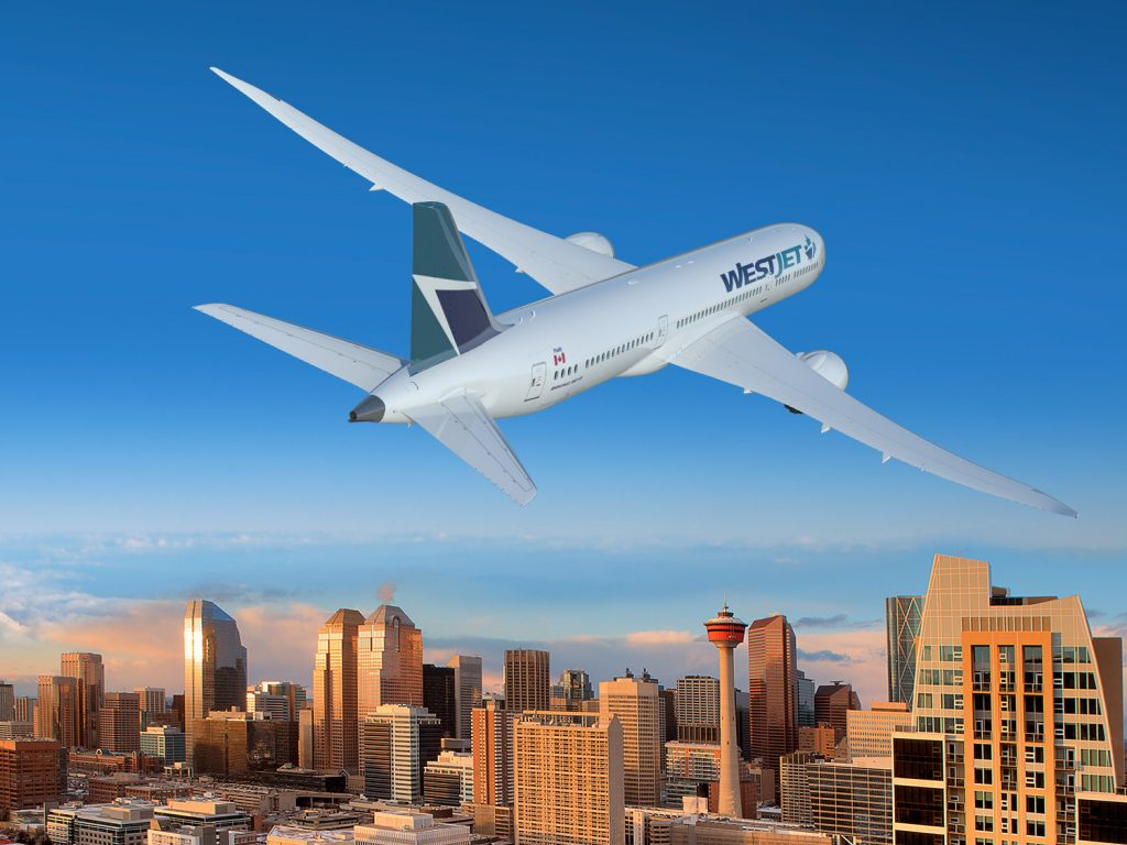 WestJet Inks Deal With Boeing for up to 20 787-9 Dreamliners