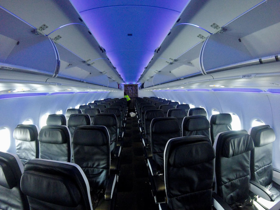 A dive into the u s airlines 39 latest report card for Virgin america a321neo cabin