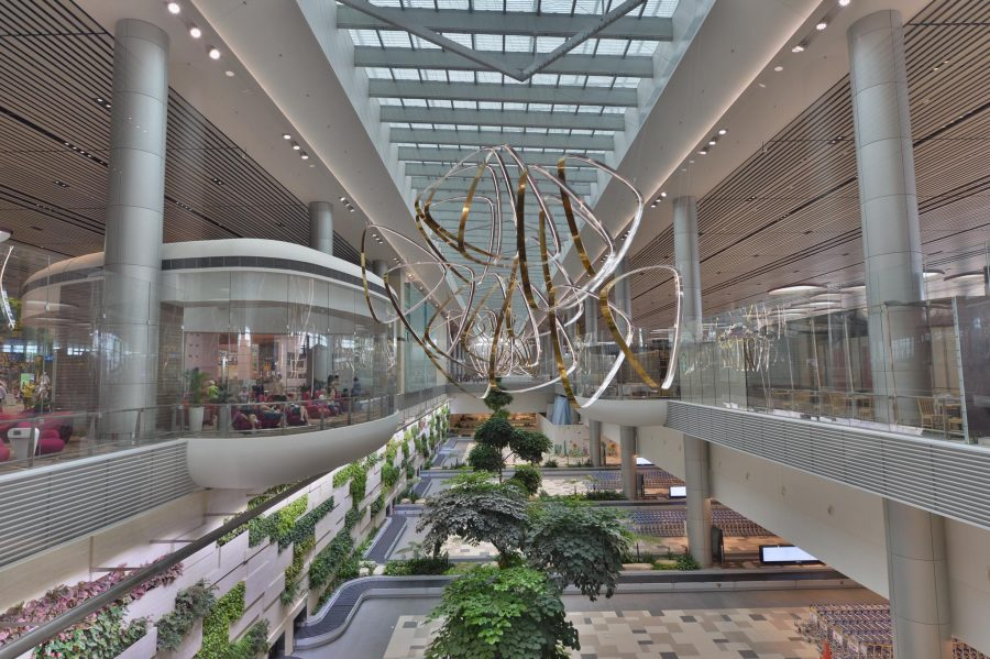 Singapore Changi Airport Terminal 4 Inches Closer To