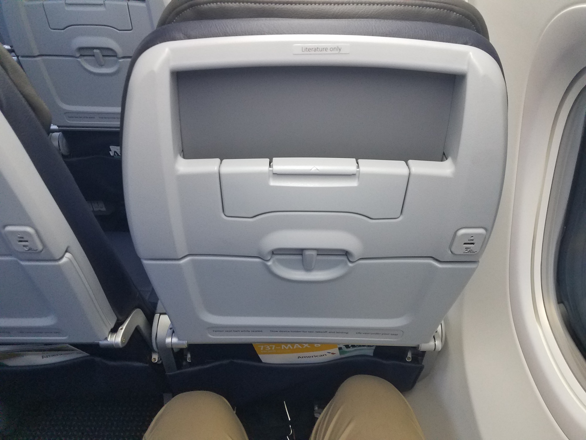 Taking a Ride Onboard American's First Revenue 737 MAX 8