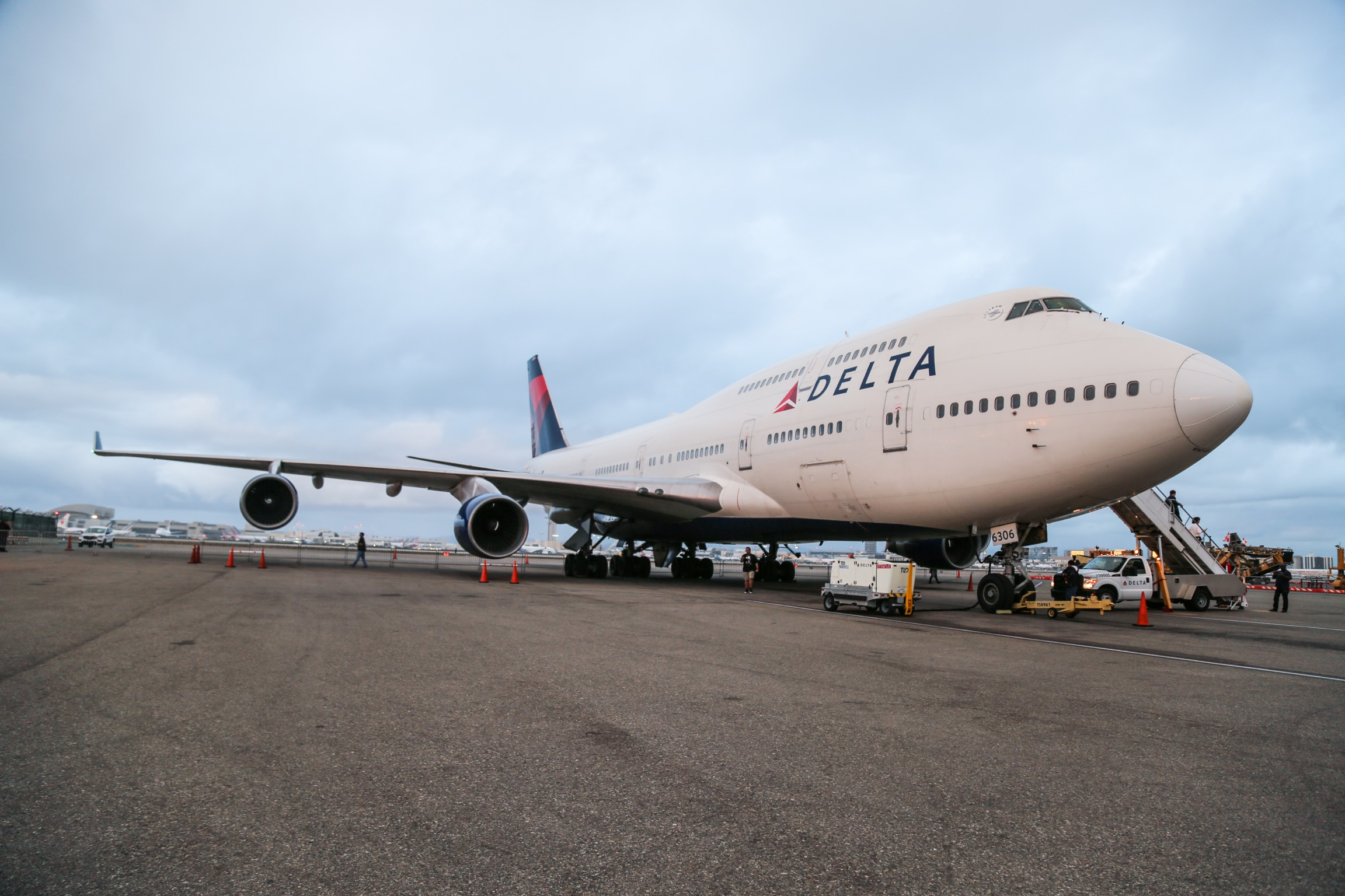 Photo Gallery: A Last Look at Delta's Queen of the Skies on