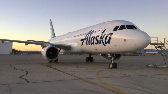 Alaska Airlines Reveals First Airbus A320 in Alaska Livery